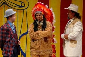 Charlie, Sitting Bull & Buffalo Bill