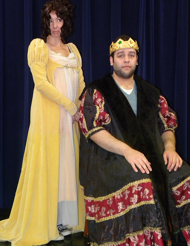 King and Lady in Waiting