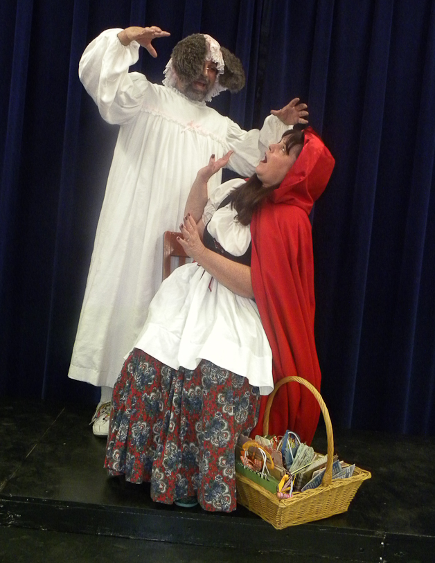Granny Wolf and Red Riding Hood