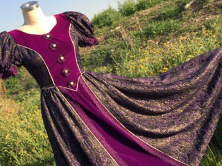 costume purple